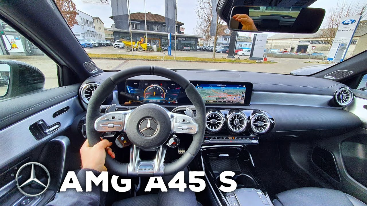 Download New Mercedes AMG A45 S 2021 Test Drive Review POV