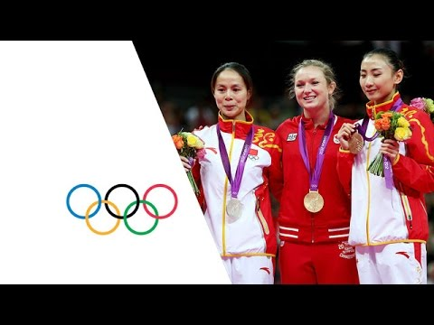 Rosannagh MacLennan Wins Women's Trampoline Gold - London 2012 Olympics