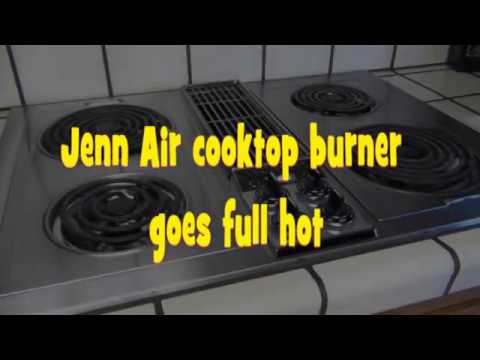 Jenn Air Infinite switch replacement - YouTube