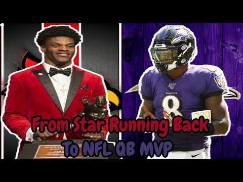 From Star College Running Back To NFL MVP Quarterback! Meet Lamar Jackson