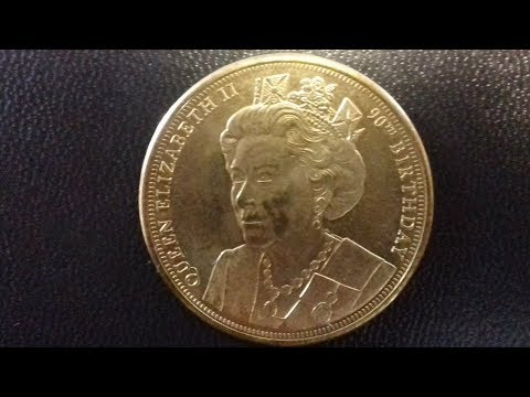 Queen Elizabeth II 90th Birthday Coin MAGNAE BRITANNIAE