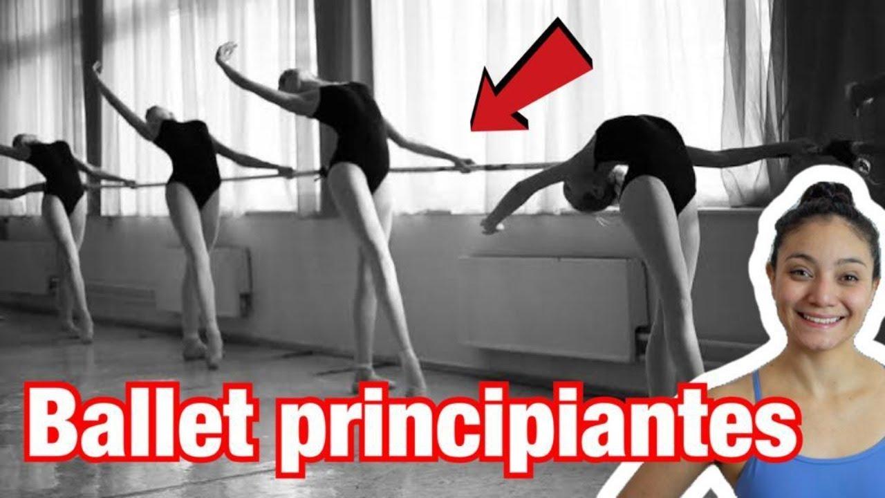 ▶︎💖 ** CLASE DE BALLET para ADULTOS ** PRINCIPIANTES ** (BARRA) DESDE CASA**
