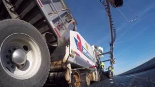 Video still for Columbus Equipment Company: Roadtec RP-190e Asphalt Paver