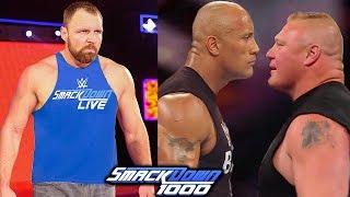 10 WWE SmackDown 1000 Rumors, Returns & Surprises - Dean Ambrose Moving to SmackDown