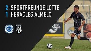 Sportfreunde Lotte - Heracles Almelo 2-1 | 20-07-2018 | Samenvatting