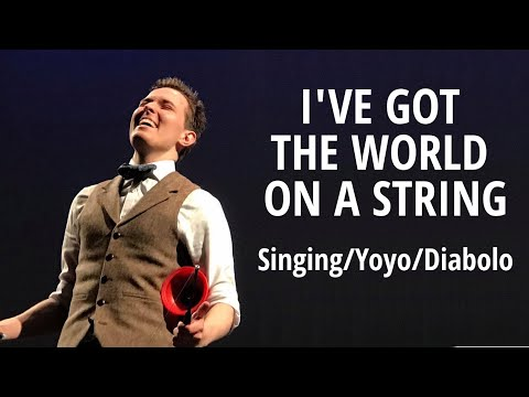 """""""I've Got The World On A String"""" - Yoyo/Diabolo Singing Act -  Bindlestiff Circus Open Stage"""