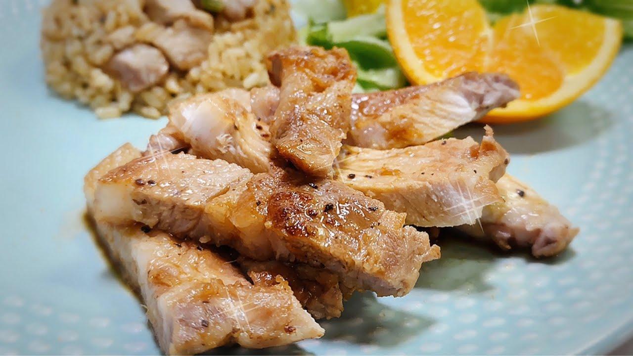 Chuleta de cerdo en salsa japonesa! Cocina Rapida!
