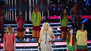 Один в один! Марина Кравец - Шакира (Waka, waka)(Новый сезон популярного шоу «Один в один!» - это десять суперхитов, которые на одной сцене вживую исполняют..., 2015-02-22T15:00:03.000Z)