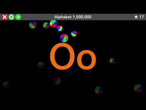 Alphabet 1,000,000 - Kindergarten Letter ID