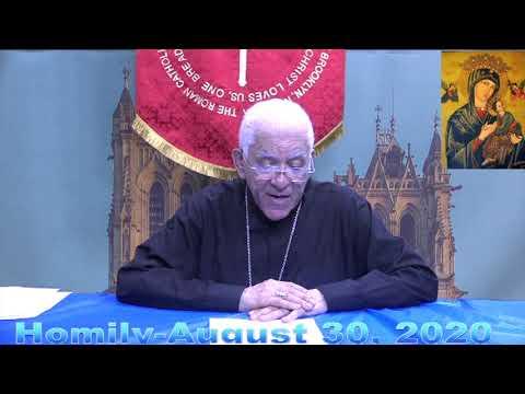 Bishop Sansaricq-Homelie 30 Aout 2020