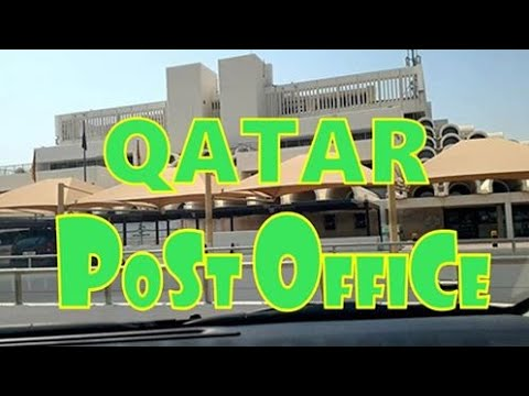 QATAR-POST OFFICE | PIKA & CHU
