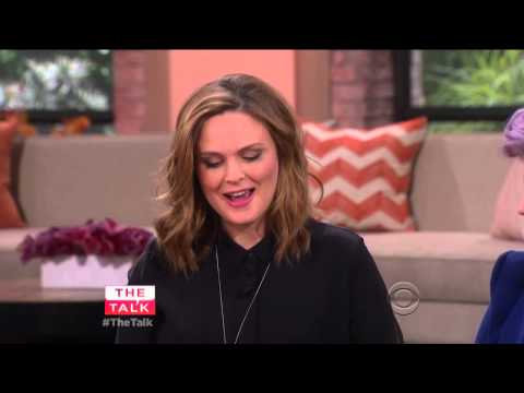 Emily Deschanel on The Talk (Interview) (03-23-2015) (HD)