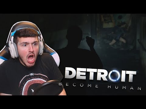 IS THIS A HORROR GAME NOW!? | Detroit: Become Human - Part 3