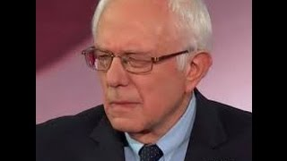 "Bernie Sanders attacked by ""liberal media"" for challenging Trump"
