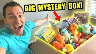 Opening BIG MYSTERY BOX of POKEMON CARDS From a Fan!
