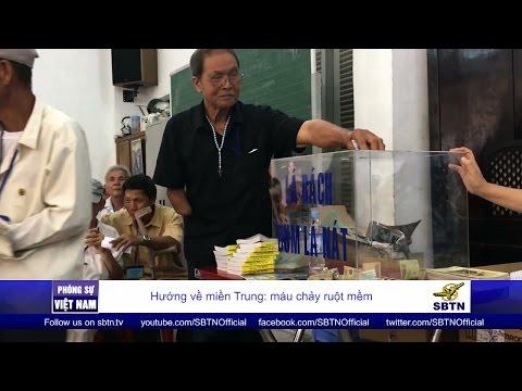 24/10/16 - PHÓNG SỰ VIỆT NAM: Các Thương Phế Binh VNCH ở Sài Gòn cùng hướng về miền Trung
