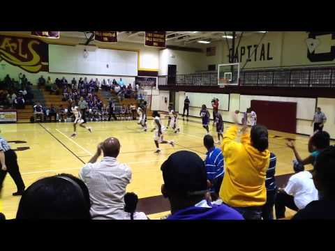 Columbia High School (SC) Lady Capitals vs Saluda High School (2012)
