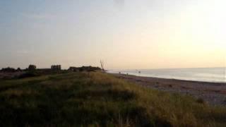 FKK Camping Rosenfelder Strand, Sonnenaufgang an der Ostsee