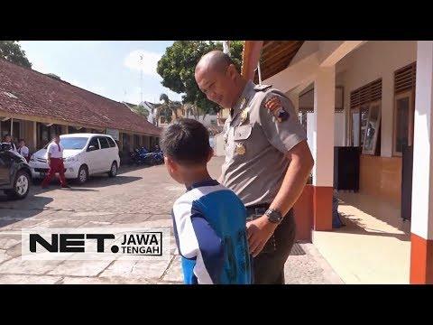 Hore.. Rayyan, Anak yang Viral Karena Rawat Ibu Seorang Diri Kini Kembali Bersekolah - NET JATENG