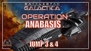 Battlestar Galactica Operation Anabasis DLC Jump 3 and 4