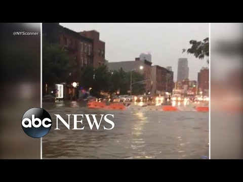 Severe Storms Cause Flash Floods Throughout Northeast