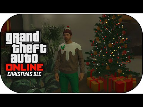 GTA 5 Christmas DLC Update Gameplay - New Apartments,DLC Cars & More ...
