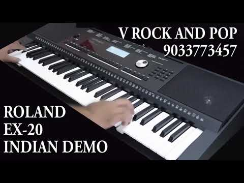 ROLAND EX 20 INDIAN DEMO IN DEPTH 9033773457