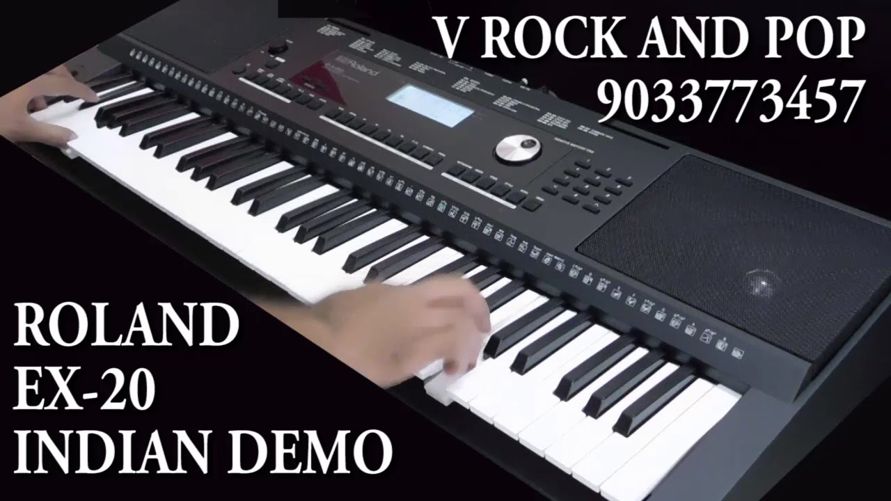 ROLAND EX 20 INDIAN DEMO IN DEPTH 16800 Rs