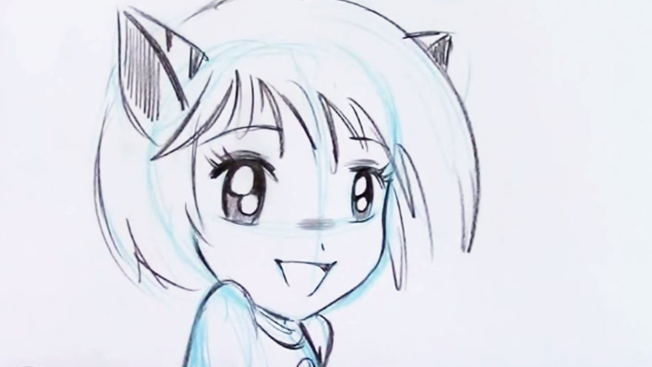 How to draw an anime chibi for beginners