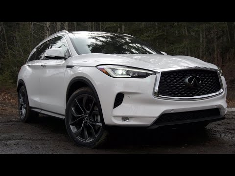 2019 INFINITI QX50 AWD Review: The Stylish Compact Crossover