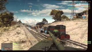 Battlefield 4 Gangster Squad: Tank Rampage