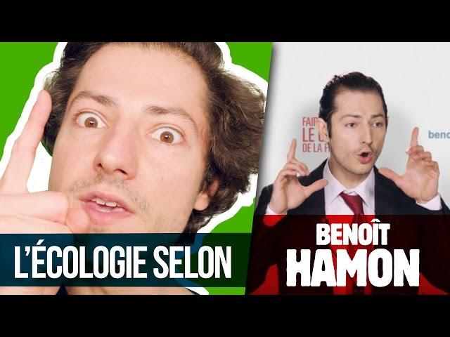 L'ÉCOLOGIE SELON HAMON