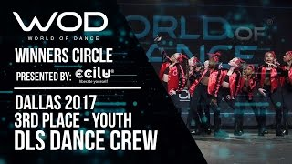 DLS Dance Crew   3rd Place Youth   World of Dance Dallas 2017   Winners Circle   #WODDALLAS17