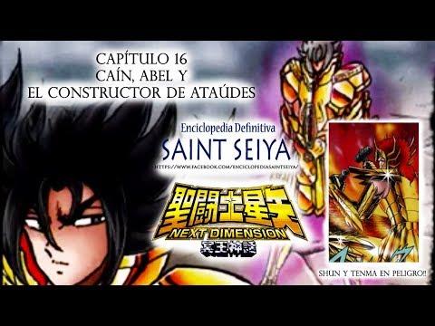 """16---saint-seiya-next-dimension-""""caín,-abel-y-el-constructor-de-ataúdes"""""""