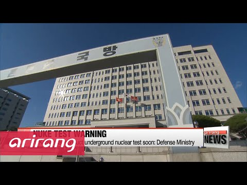 N. Korea may conduct underground nuclear test soon: Defense Ministry