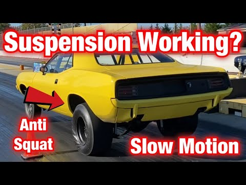 How Drag Racing Suspension Works, Cars Launching