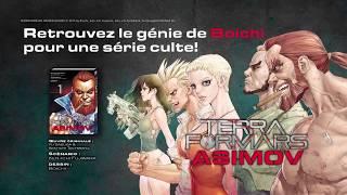 bande-annonce Terra Formars Asimov - T.1