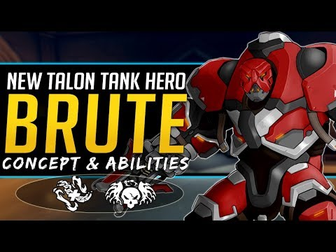 Overwatch NEW Talon Tank Hero Brute  Concept, Lore, Abilities, and more!