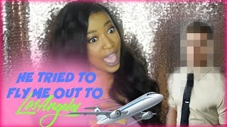 storytime famous youtuber tried to fly me out to l a