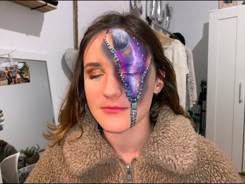 Galaxy makeup : tutorial / chatting / procrastinating thumbnail