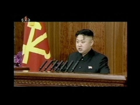 North Korean leader in peace call to the South