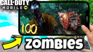 *NEW* Call of Duty Mobile Zombies Modes!! ROUND ZOMBIES for Call of Duty Mobile Zombies