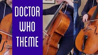 Doctor Who Theme on cello - The Doubleclicks