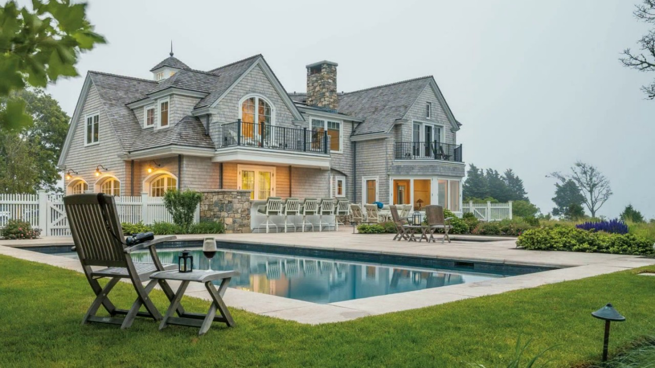 luxurious beach house in cape cod ma youtube