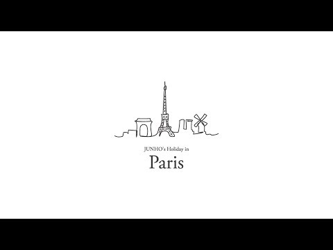 「JUNHO (From 2PM) SPECIAL 一人旅 〜JUNHO's Holiday in Paris〜」TEASER 2