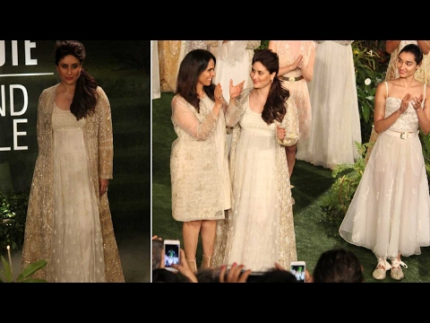 Lakme Fashion Week: Kareena Kapoor Khan's first ramp walk post baby
