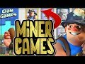 MINER FARMING - TROPHY PUSHING WITH THE NEW CLAN GAMES EVENT | Clash of Clans