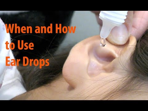 Antibiotic Ear Drops - When And How To Use Ear Drops Properly