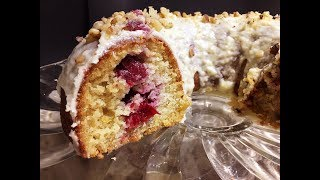 Cranberry Orange Bundt Cake Recipe - Incredibly Moist & Delicious Cake! - Episode #266