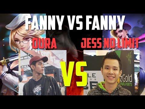 JESS NO LIMIT VS OURA - FANNY VS FANNY - Mobile Legends